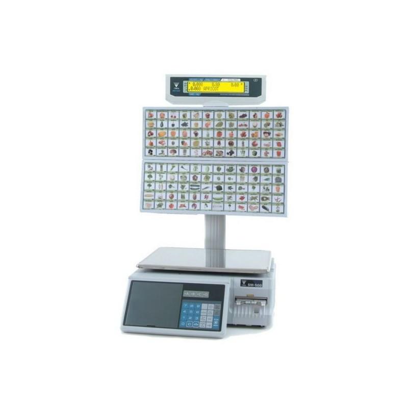 Весы торговые DIGI SM-500 BS/120 15 кг с печатью