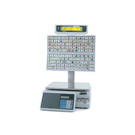 Весы торговые DIGI SM-500 BS/120 15 кг с печатью, фото 2