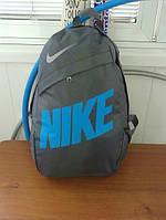 Рюкзак спортивный,сумка серая Nike, Найк, ф1289
