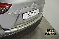 Накладка на бампер  Mazda CX-5 2012 / Мазда СХ5