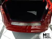 Накладка на бампер  MG MG 350 2012 / МГ МГ350