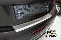 Накладка на бампер  Peugeot 208 2013- / Пежо 208