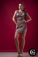 Распродажа женское модное платье кофейного цвета акционная цена