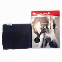 Мужские трусы слипы Cornette Authentic 3XL-5XL (графитовый)