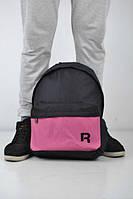 Рюкзак средний, фиолетовый, не большой, женский , унисекс Reebok, Рибок, ф1484