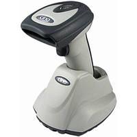 Ударостійкий бездротовий сканер штрих-кодів Cino F780 BT RS-232 сірий