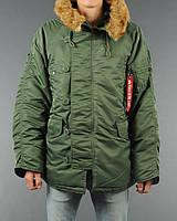 Чоловіча куртка аляска Alpha Industries N-3B Parka MJN31000C1 (Sage Green)