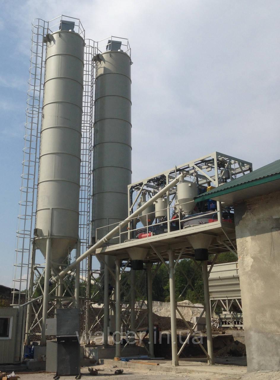 Бетонный завод  (БСУ-120)