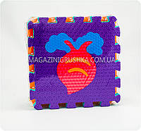 Игровой коврик-мозаика «Фрукты и овощи»