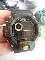 Часы Casio G-Shock GW-9400 Black-Orange