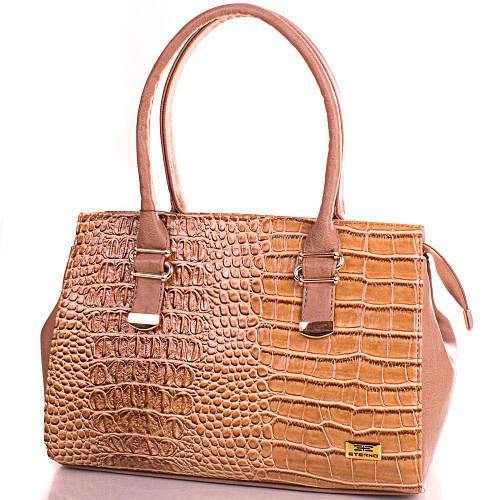 Классическая женская сумка из качественной искусственной кожи Eterno (Этерно) ETMS35273-12 коричневая
