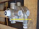 Воздухораспределитель тормозной КАМАЗ, МАЗ, прицепы, полуприцепы 1-проводной (производитель ПААЗ, Украина), фото 2