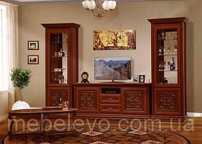 Гостиная Лацио комплект №1 2236х3346х480мм прованс Світ Меблів
