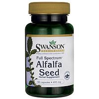 Препарат для кроветворения - Alfalfa / Альфальфа / Люцерна, 400 мг 60 капсул
