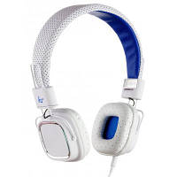 Наушники KitSound KS Clash On-Ear Headphones with In-line Mic (White) (KSCLAWH)