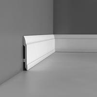 Лепнина из полиуретана, Напольный плинтус гладкий Orac decor Luxxus SX104