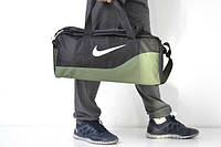 Сумка большая, тренировочная, Найк кожаное дно, Nike, ф1562