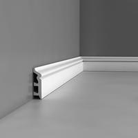Лепнина из полиуретана, Напольный плинтус гладкий Orac decor Luxxus SX122