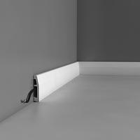 Лепнина из полиуретана, Напольный плинтус гладкий Orac decor Luxxus SX125