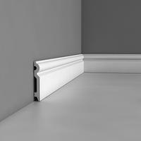 Лепнина из полиуретана, Напольный плинтус гладкий Orac decor Luxxus SX137