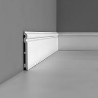 Лепнина из полиуретана, Напольный плинтус гладкий Orac decor Luxxus SX138