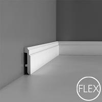 Лепнина из полиуретана, Напольный плинтус гладкий Orac decor Luxxus SX155