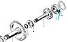 Регулировочная шайба  ZL40A.30.6-3, фото 2