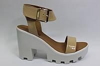 Женские кожаные босоножки ТМ Ross, фото 1