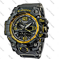 Часы Casio G-Shock Triple Sensor Black-Gold