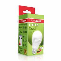 """EUROLAMP LED Лампа ЕКО серия """"D"""" А65 15W E27 3000K"""