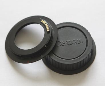 Программируемый переходник EMF М42 — Canon с одуванчиком Лушникова (оригинал) + крышка