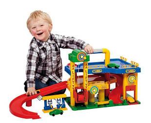 Детские парковки и гаражи