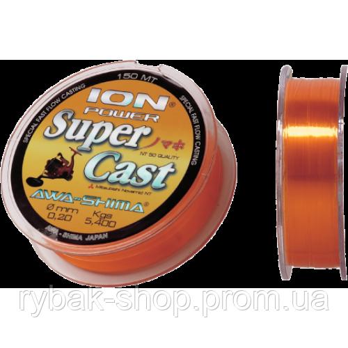 Леска Awa-Shima Ion Power Super Cast, 150m