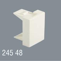 Заглушка 45x45  модульная для установки в люк, кабель-канал, настенный бокс