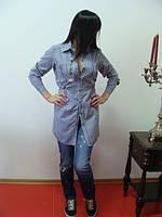 Рубашка клетка женская от производителя