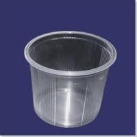 Контейнер пластиковий одноразовий з кришкою 0,5 літрів Трейд Пак 100 штук
