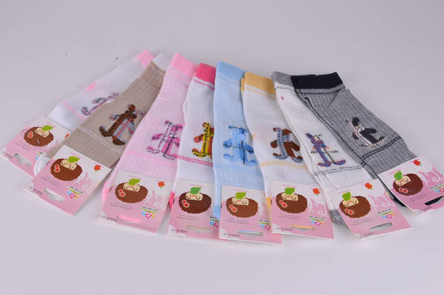 Детские носки девочка+мальчик сетка 4-7 лет (B1140/4-7) | 12 пар, фото 2