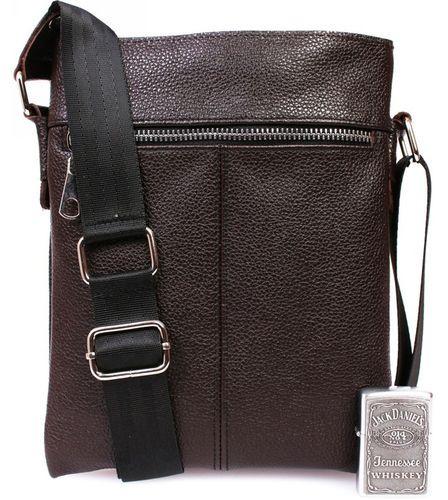 520a4beb8cf9 Сумка-планшетка кожаная коричневая Alvi av-104brown — только ...