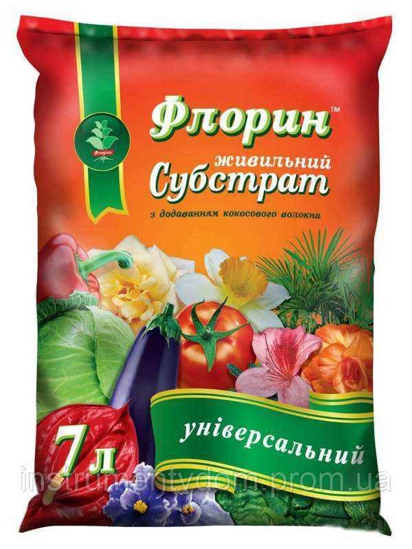 """Субстрат ФЛОРИН """"Универсальный"""" (7 л)"""