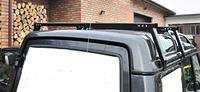 Рейлинги монтажные на крышу для Land Rover Discovery II