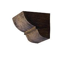 Консоль для декоративных балок Decowood Модерн ED 017 classic темная 6х9