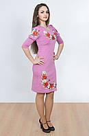 Женственная и очень романтическая фиолетовое платье