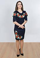 Обалденное платье с роскошными вышитыми цветами