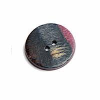 Пуговица Flat Round 34 mm Symfonie Lilac Range KnitPro