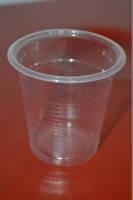 Стакан одноразовый 85 мл (рюмка) Тепло-Пак (PP) прозрачный