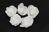 Роза белая 2030-13-11  (мелкая)