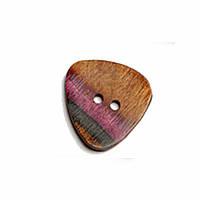 Пуговица Curved Triangle 25 mm Symfonie Lilac Range KnitPro