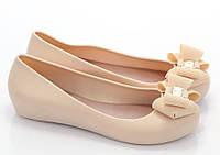 Резиновые Женские балетки, лодочки туфли