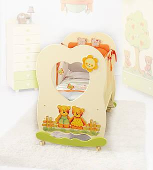 Кроватка Baby Expert LETTINO CUORE, фото 2