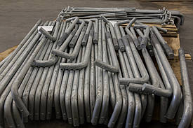 Наша компания предлагает Вам болты фундаментные анкерные по ГОСТ 24379.1-80 в комплекте с гайками, шайбами и плитами.